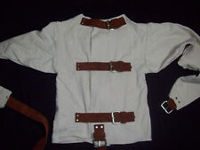 4XL Straight jacket-w/suede leather-lots of options