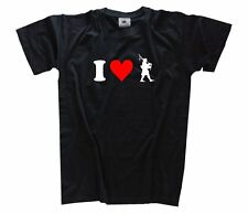 I LOVE . Bagpipes bagpipe T-Shirt S-XXXL