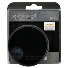 ZOMEi Neutral Density Filter ND ND4 Lens 52/58/67/72/82mm for Canon Nikon Camera