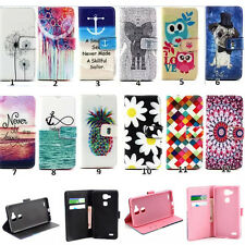 New Fashion Patterned Flip Leather Wallet Stand Case Cover For Samsung Galaxy