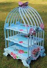 3 Tier Birdcage Cupcake Stand Muffin Holder Wedding B-day Party Table Decoration