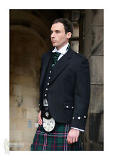 COMPLETE 11PC DELUXE 'ARGYLE' SCOTTISH KILT PACKAGE - TARTAN & SIZE OPTIONS!
