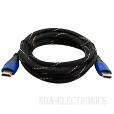 Lot HDMI 12FT PREMIUM CABLE 1.4 1080P BLURAY 3D TV DVD PS3 XBOX HDTV 12 FEET NEW