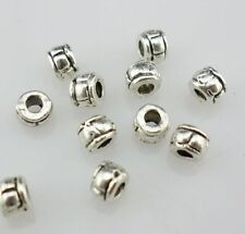 Wholesale 50/250/2000pcs Tibetan Silver Spacer Beads DIY Jewelry Finding