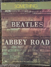 the BEATLES Sheet Music SOMETHING 60's ABBEY ROAD George HARRISON