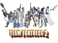 Team Fortress 2 Hot Game Wall Poster 32