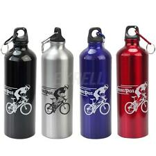 750ml Outdoor Cycling Bicycle Aluminum Alloy Water Drink Kettle Sport Bottle