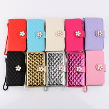 Five Flower Wallet Stand Flip Slim Magnetic Leather Case For iPhone 6/6 Plus