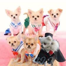 Anime Cosplay 20th anniversary Sailor Moon Dog Cat Pet Cosplay Costume Pet Dress