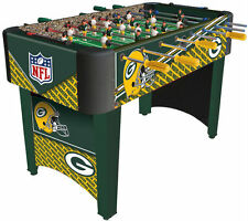 NFL Team Foosball Table Packer Patriots Giants Steelers Authentic League Logo