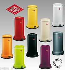 Wesco waste bin rubbish bin Baseboy 20 ltr. 135531 01 metal zinc insertion