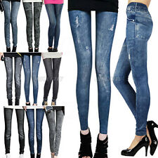 Fashion Sexy Women Jeans Skinny  Jeggings Tights Stretch Pants ES