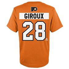 Philadelphia Flyers NHL Men's GIROUX  #28 Orange Player T-Shirt/Jersey: L-XL