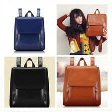 Fashion Women Ladies PU Leather Vintage Rucksack Backpack Fashion School Bag New