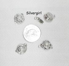 Silver Plate - Gold Plate Jewelry Supply Clasps Toggle Screw Push Type