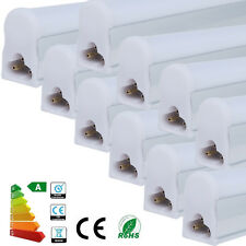 1 2 4 10x T5 1FT 2FT 5W 9W LED Tube Light Bar Lighting Retrofit Fluorescent Lamp