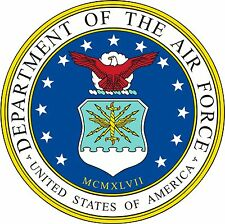 Dept of the Air Force seal USAF Decals Vinyl Stickers Military Emblem Decals