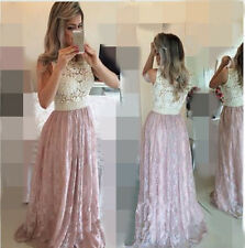 Fashion Elegant Long Bridesmaid Formal Gown Ball Party Evening Prom Dress Custom