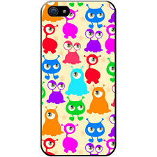 Funny Monsters Hard Case For Apple iPhone 5 / 5s