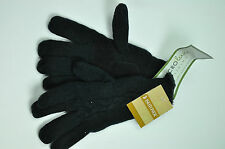 Women Isotoner Microluxe Lining Acrylic Gloves Black or Purple Color MSRP $32