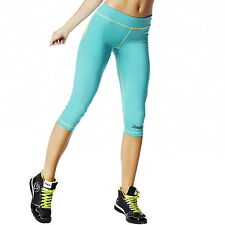 Zumba Dance Fitness Outta-My-Space Capri Leggings! Marine Blue! NWT! SHIPS FAST!
