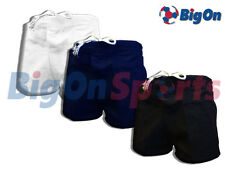 *BRAND NEW* BIGON SHORTS - PLAIN MENS SPORT COTTON SHORT HOCKEY RUGBY