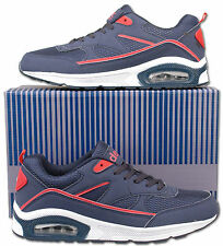 Mens New Lace Up Air Trainers Sports Running Gym Size 6 7 8 9 10 11 12