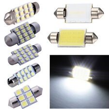 10X White 31~41mm Festoon 3528/5050SMD Car Led Auto Interior Dome Door Light 12V