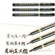 Chinese Japanese Calligraphy Brush Ink Pen Writing Drawing Tool Craft S M L GOOD