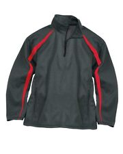 Badger - Fusion Colorblock Polyester Fleece Quarter-Zip Pullover - 1481