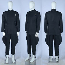 Custom-Made Halloween Star Wars Imperial Officer Black Uniform Cosplay Costume
