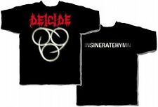 "Deicide ""Insineratehymn"" Double Sided T-Shirt - FREE SHIPPING"