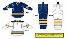 Reebok Buffalo Sabres Edge Uncrested Gamewear 25P00 Jersey + SX100 Socks - New!