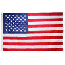 3' x 5' ft. USA US U.S. American Flag Stars Grommets United States Free ship