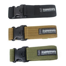 Military Army Thicken Tactical Outdoor Sport  Blackhawk Tactical Belt Waistband