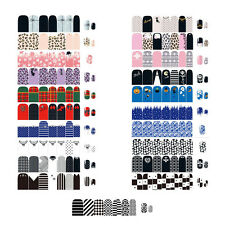 NEWEST Self Adhesive Polish Foils Nail Art Stickers Manicure Decals Wraps Tips