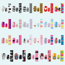 CUTE DIY NAIL WRAPS STICKERS Full Self Adhesive Polish Foil Decoration Art Decal