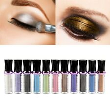 Roller Color Eyeshadow Glitter Pigment Loose Powder Eye Shadow Makeup 11 Colors