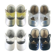 Baby Girls Shoes Infant Toddler Pre Walker Shoes Soft Sole Patent Leather Shoes