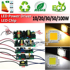 High Power 10W 20W 30W 50W 100W LED Driver Supply LED Chip Light Lamp Bulb
