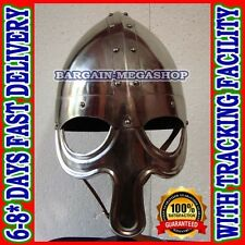 Christmas Presents Xmas Gifts Norman Viking Helmet, with CHIN Strap Viking Helm