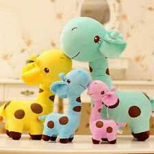 Popular Cute Plush Giraffe Toy Animal Dear Doll Baby Kids Children Xmas Gift