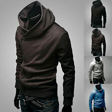 New Fashion Men's Korean Slim Fit Sweater Hoodie Cardigan Jacket Coat Sweatshirt