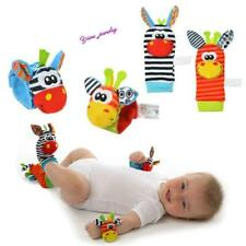 Infant Baby Animal Wrist Foot Sock Rattles Soft Developmental Toys Finders YZ
