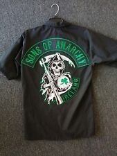 Sons of Anarchy Official licensed Ireland Patch Work Shirt