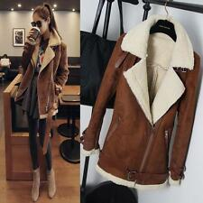 Women fashion Winter short Trench Coat Warm Jacket Zipper Lady Parka Outerwear