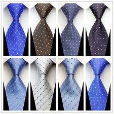 New Mens Newest Tie Chic Casual Polka Dot Silk Classic Necktie Tie Gentalmen L66