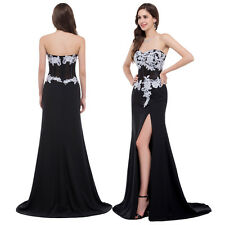 New Prom Formal Long Evening Gown Party Ball Bridesmaid Dress Size 6-20 in stock