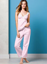 Victoria's Secret Eyelet Lace Cami & PJ Lingerie/Sleepwear cotton