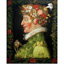 Poster Print Wall Art entitled Spring, from a series depicting the four seasons,